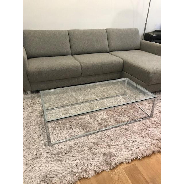 CB2 Smart Glass Coffee Table - image-2