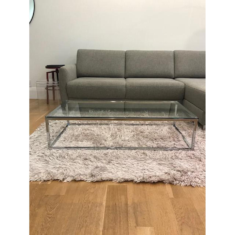 CB2 Smart Glass Coffee Table - image-3