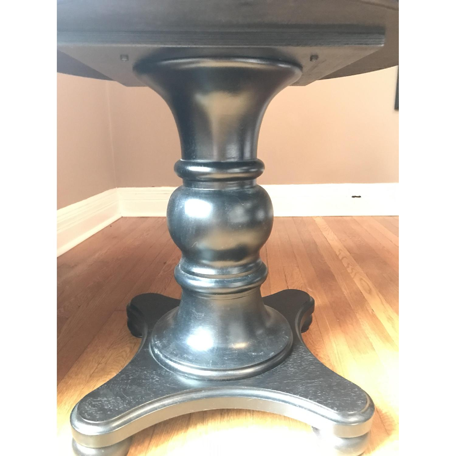 Pottery Barn Black Entry Side Table - image-8