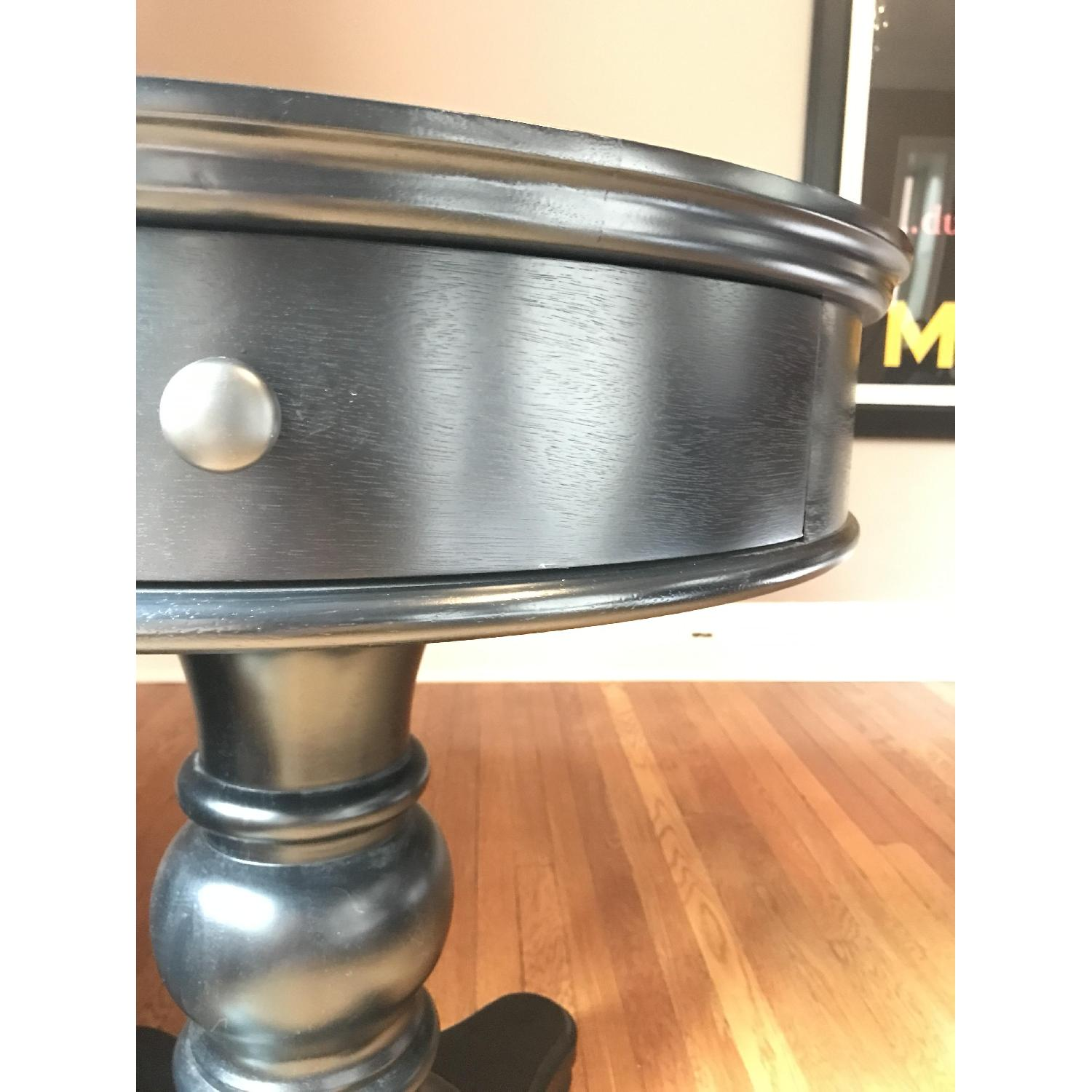 Pottery Barn Black Entry Side Table - image-10