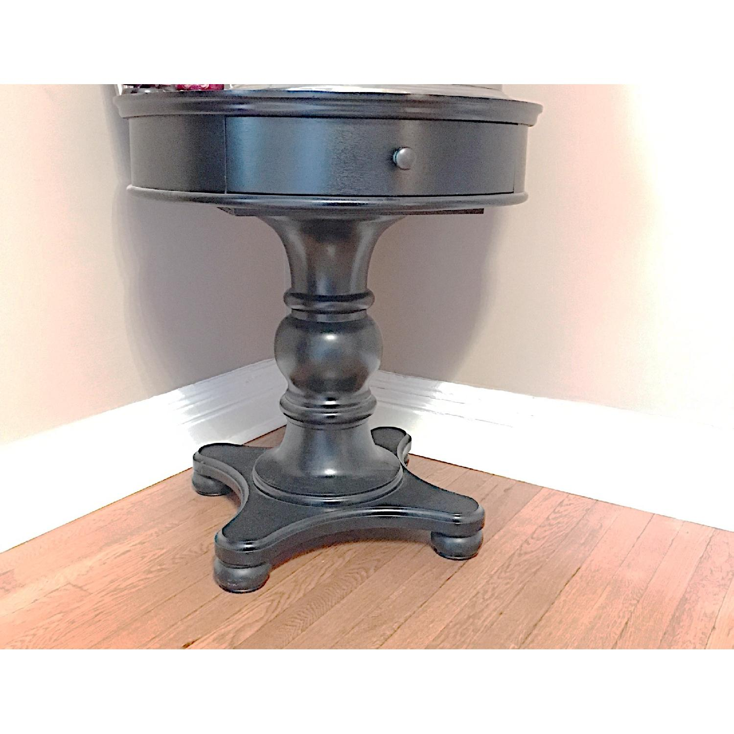 Pottery Barn Black Entry Side Table - image-11
