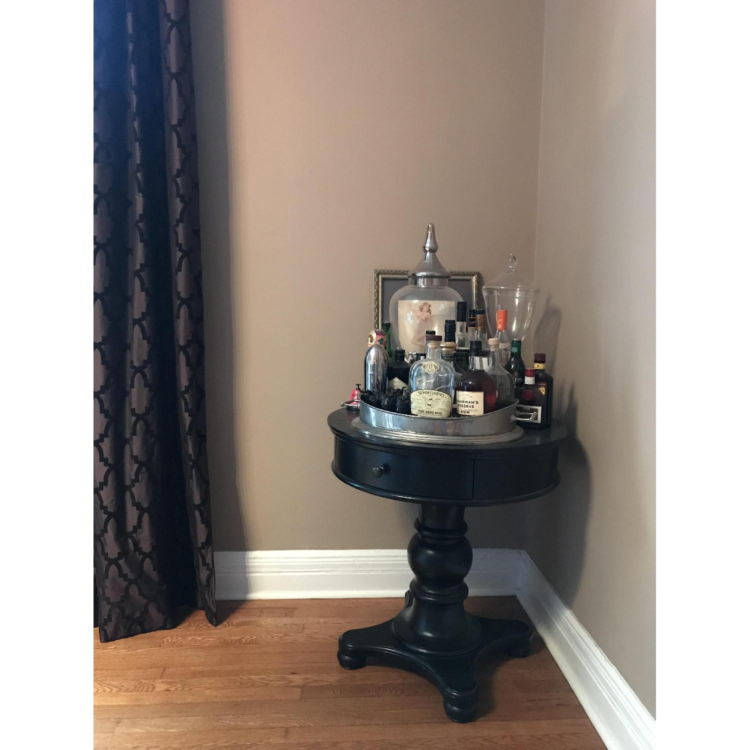Pottery Barn Black Entry Side Table - image-12