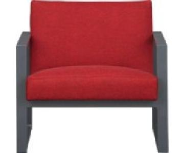 CB2 Specs Chair in Chili