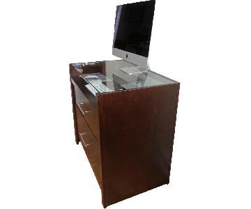 Crate & Barrel Computer Desk