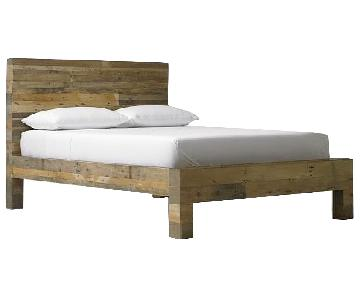 West Elm Emmerson Reclaimed Wood Bed
