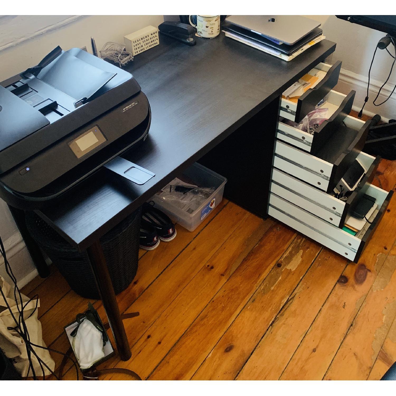 Ikea Linnmon Alex Desk Amp Renberget Swivel Chair Aptdeco