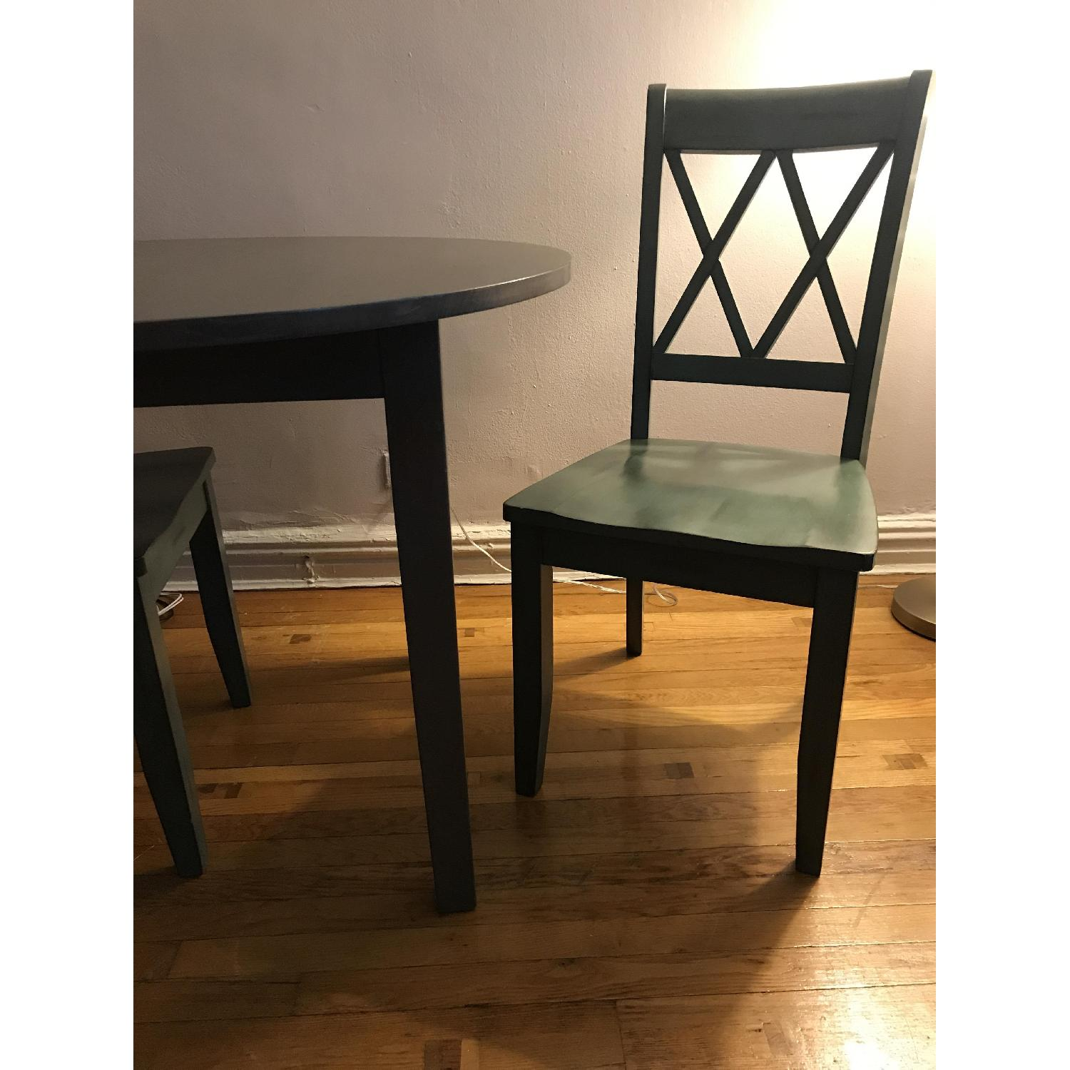 Safavieh Holly French Dining Table w/ 2 Chairs - image-3