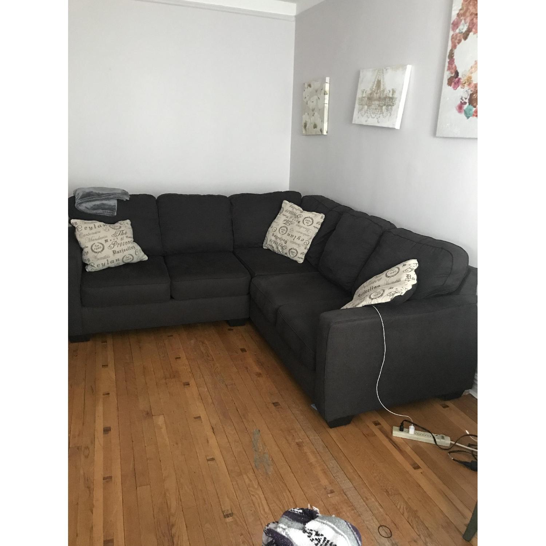 Ashley Alenya Grey 2-Piece Sectional Sofa - image-1