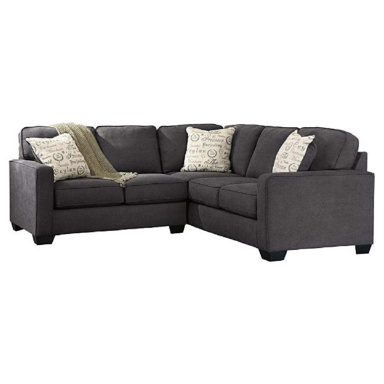 Ashley Alenya Grey 2-Piece Sectional Sofa - image-0