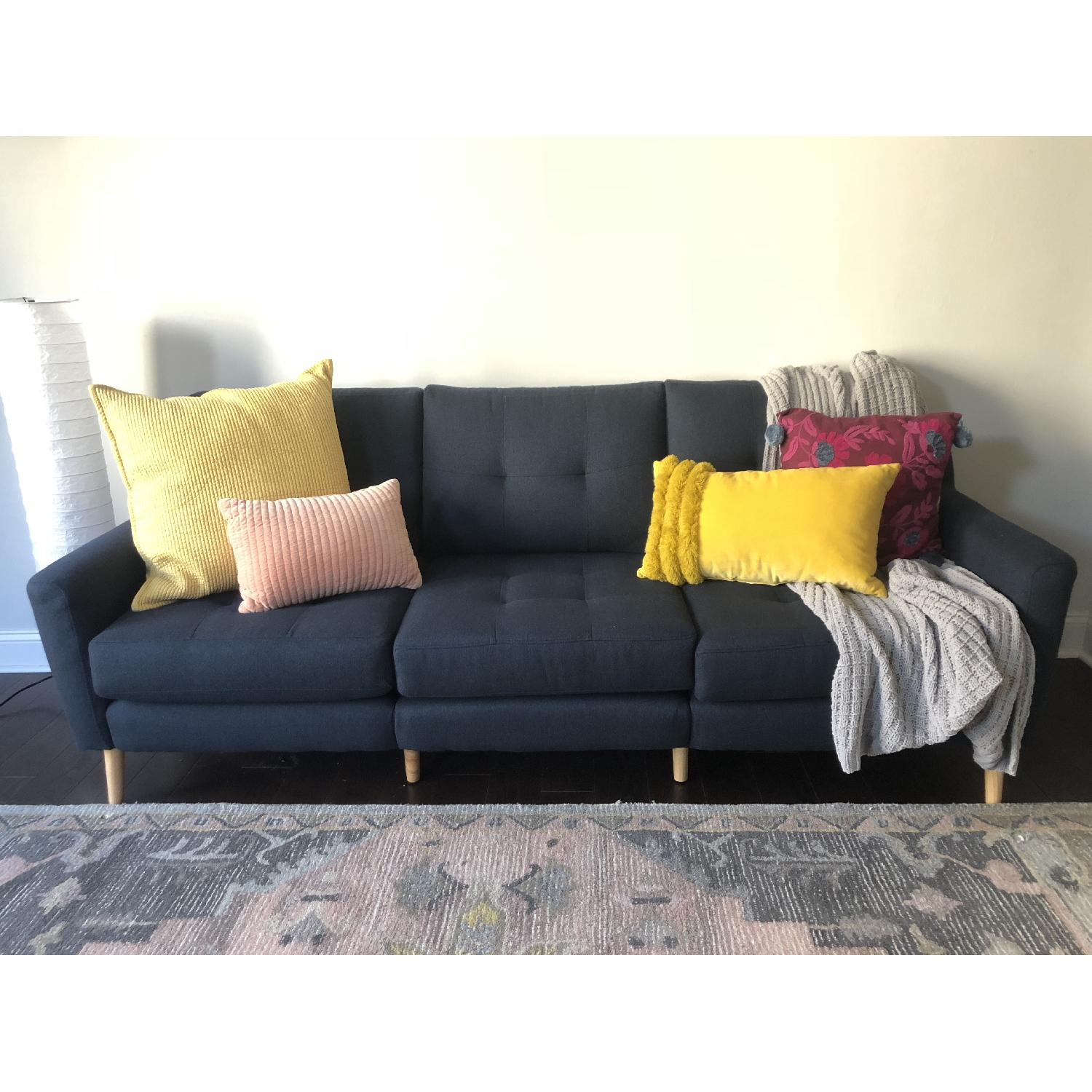Burrow Nomad Sectional Sofa w/ Chaise - image-1