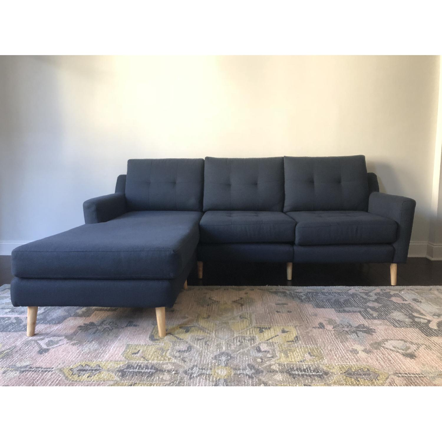 Burrow Nomad Sectional Sofa w/ Chaise - image-3