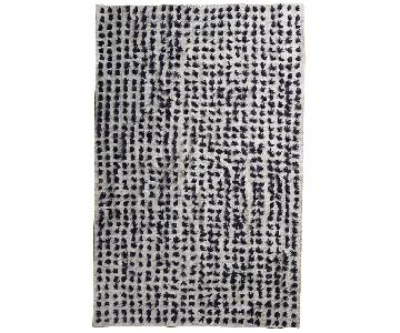 Anthropologie Versify Pom Pom Rug