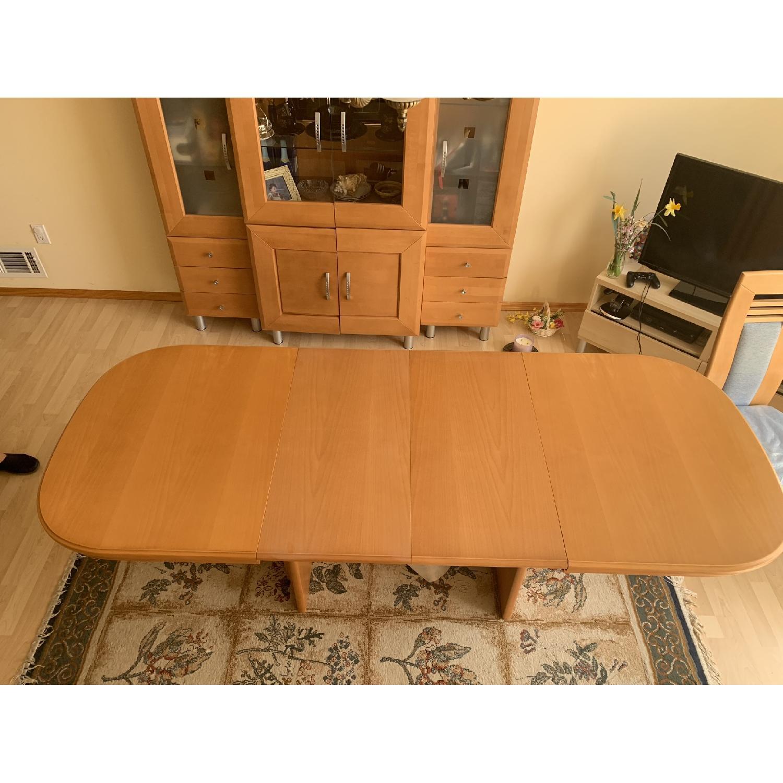 DiKlose Kollektion Cinnamon Oak 5-Piece Dining Set - image-1