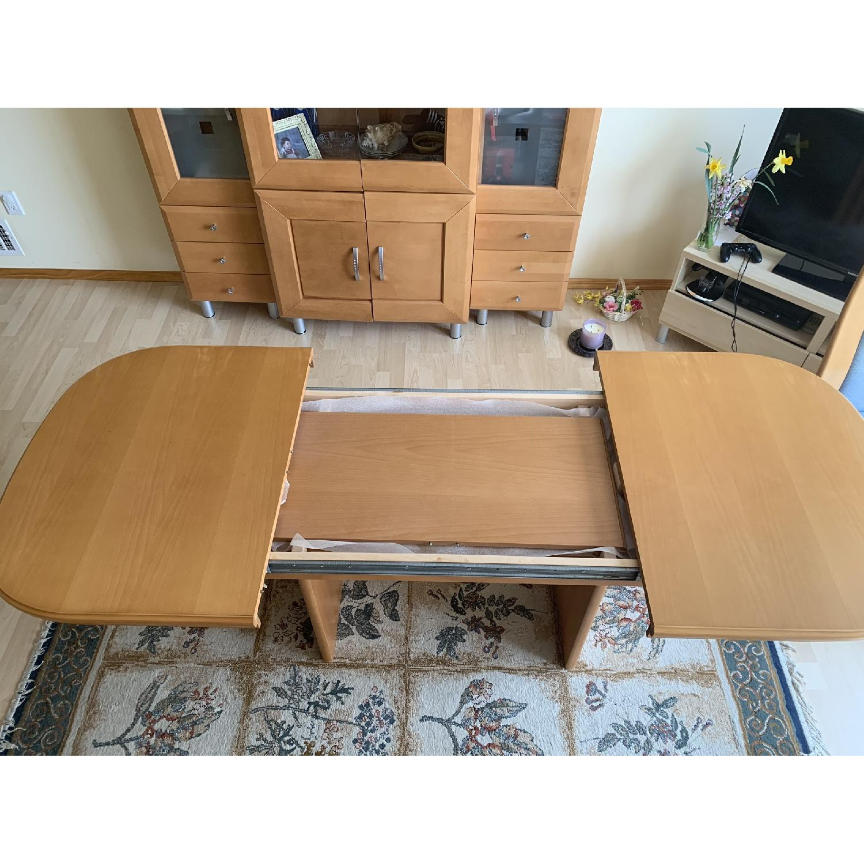 DiKlose Kollektion Cinnamon Oak 5-Piece Dining Set - image-2