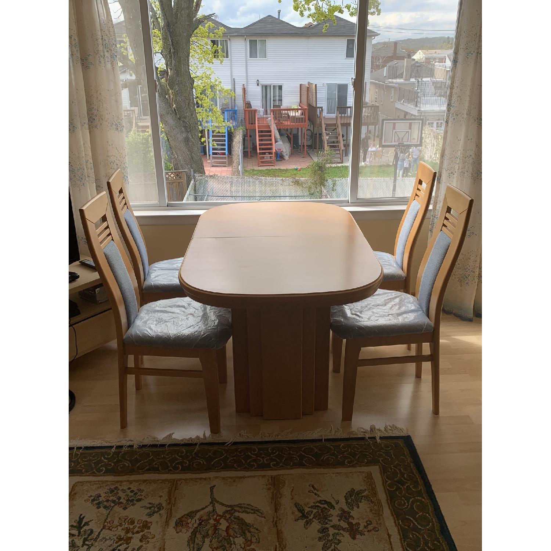 DiKlose Kollektion Cinnamon Oak 5-Piece Dining Set - image-3
