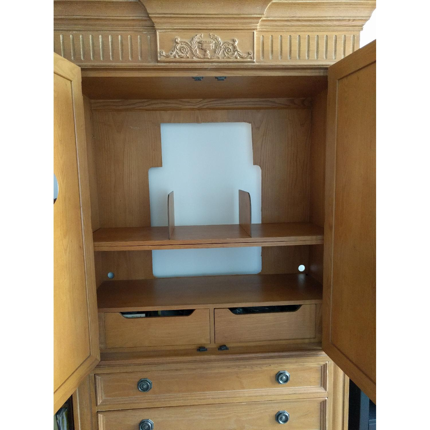 French Wood Armoire - image-3