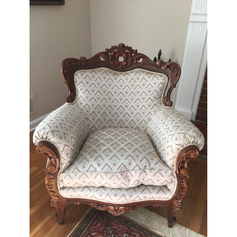 Antique Custom European Armchair - image-1