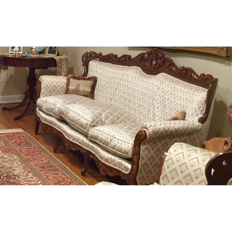 Antique Custom European Armchair - image-4