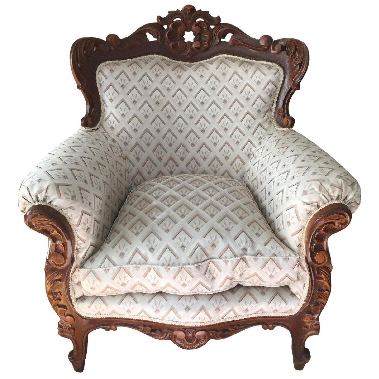 Antique Custom European Armchair - image-0