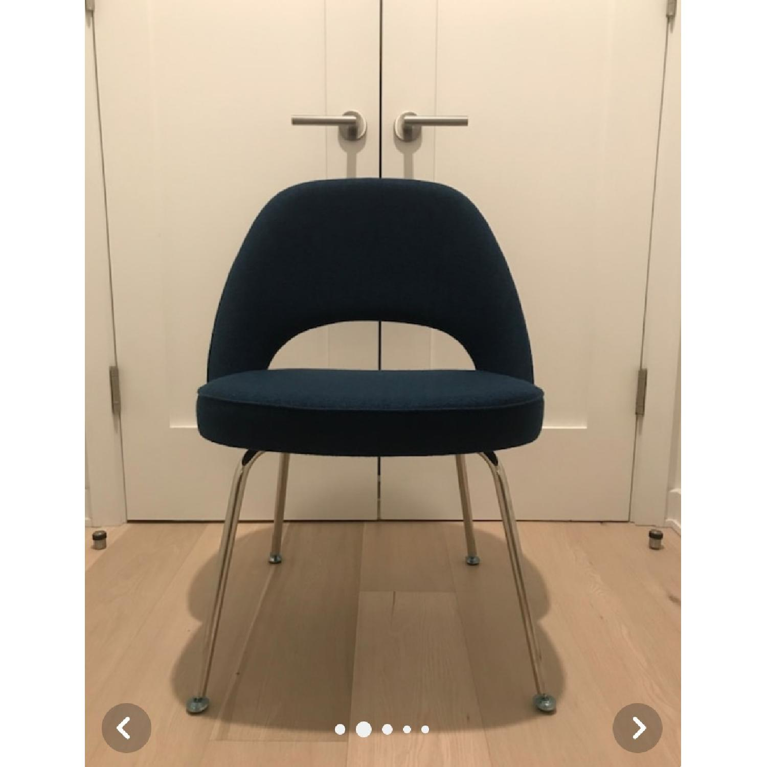 Rove Concepts Executive Side Chairs in Boucle Wool Twilight - image-3