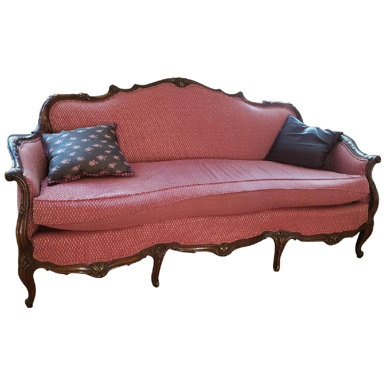 Antique 3-Seater Sofa - image-0