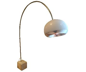 Laurel Harvey Buzzini Mid-Century Arc Floor Lamp