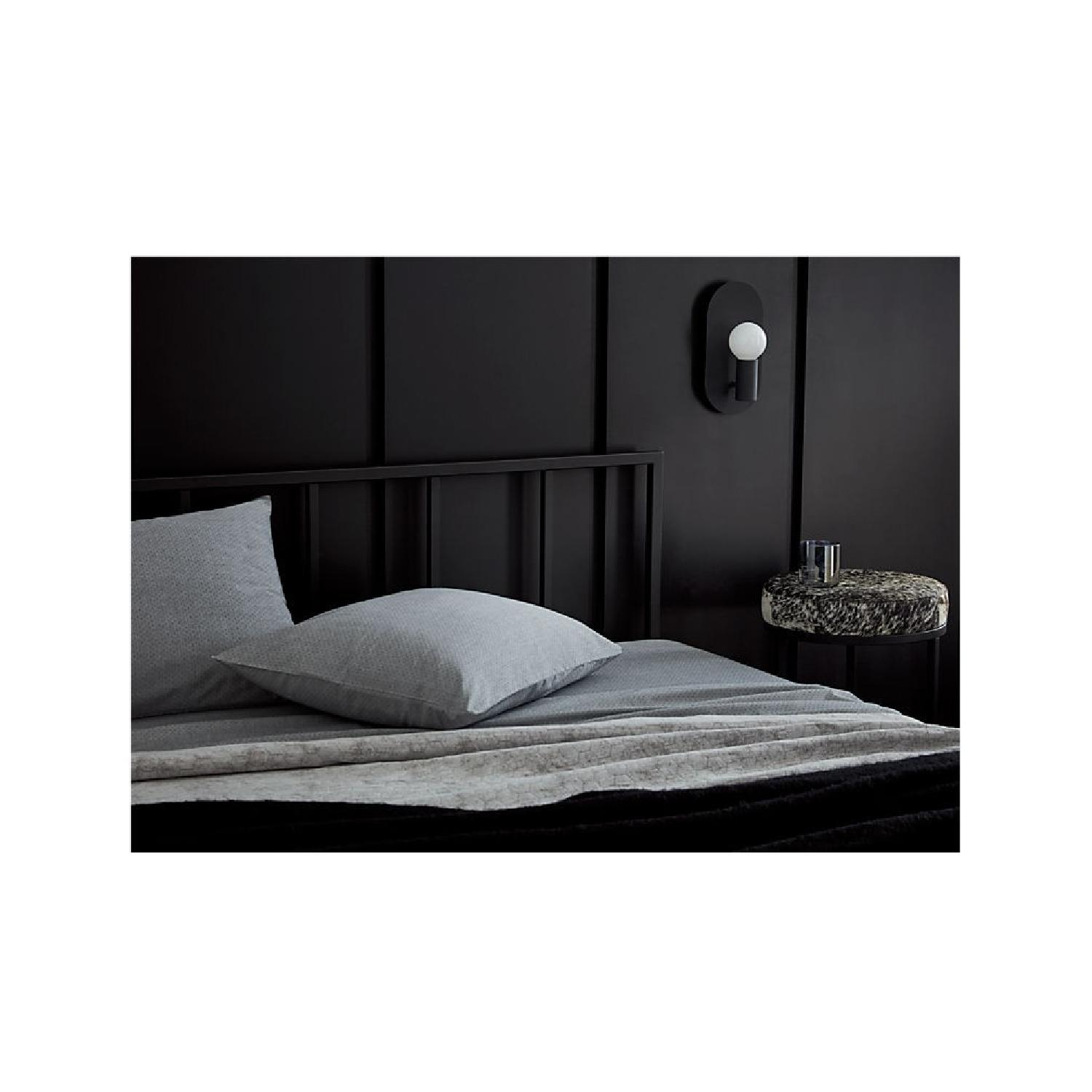 CB2 Alchemy Black Queen Bed Frame - image-2