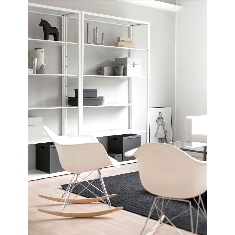 White Metal Bookshelf - image-2