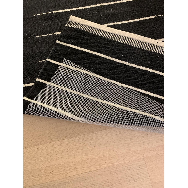 CB2 Modern Stripe Runner Rug - image-4
