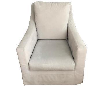 Pottery Barn Nursing Swivel Chair