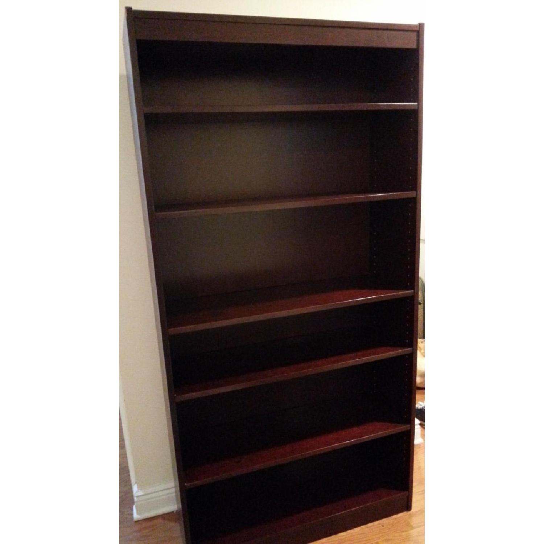 Contemporary Six Shelf Bookshelf - image-1