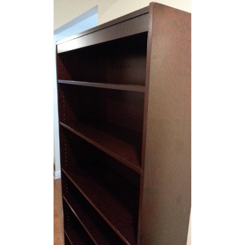 Contemporary Six Shelf Bookshelf - image-3