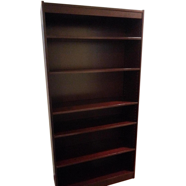 Contemporary Six Shelf Bookshelf - image-0