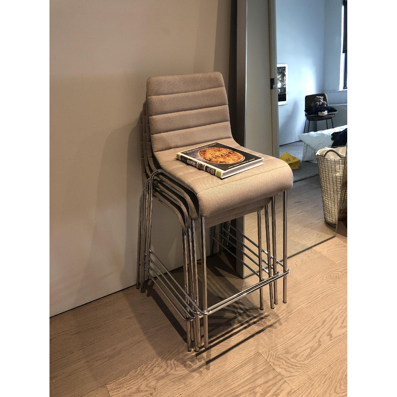 Blu Dot Modern Upholstered Bar Stools - image-1