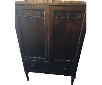 Vintage Armoire w/ Key