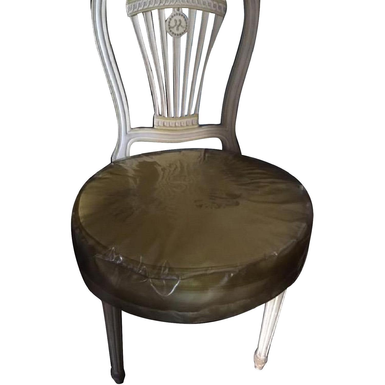 Vintage Silk Chair - image-0