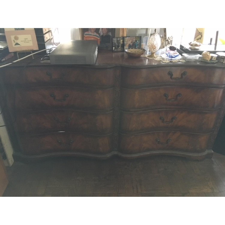 Vintage Wood Dresser w/ Original Hardware - image-2