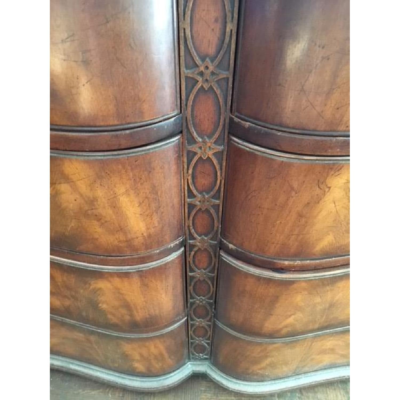 Vintage Wood Dresser w/ Original Hardware - image-4