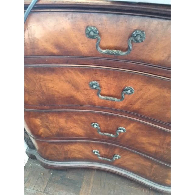 Vintage Wood Dresser w/ Original Hardware - image-6