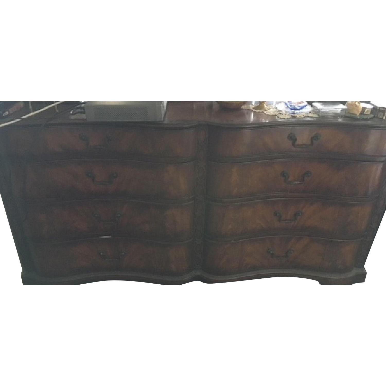 Vintage Wood Dresser w/ Original Hardware - image-0