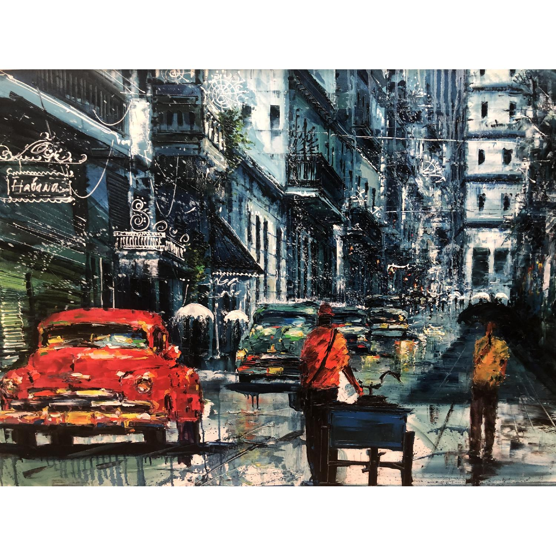 Original Cuban Oil Painting - image-2