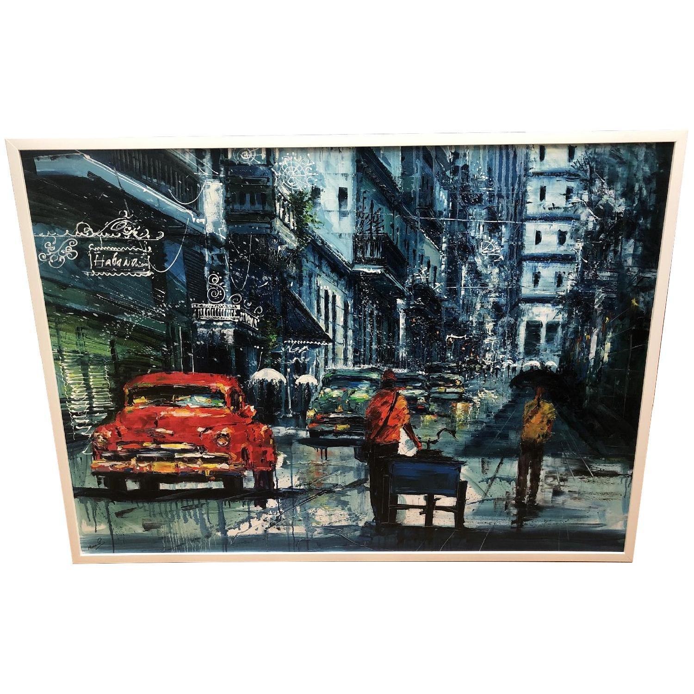 Original Cuban Oil Painting - image-0