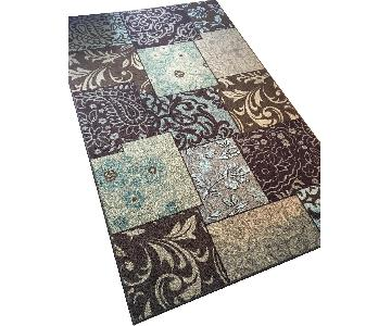 Mohawk Home Earth Tones Paisley Area Rug