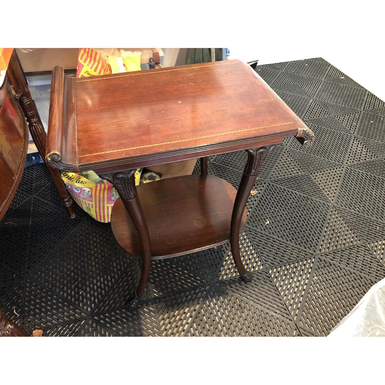 Vintage Mahogany Side Tables - image-1