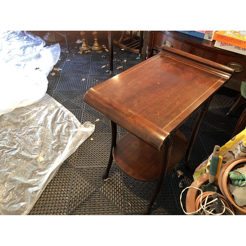 Vintage Mahogany Side Tables - image-2