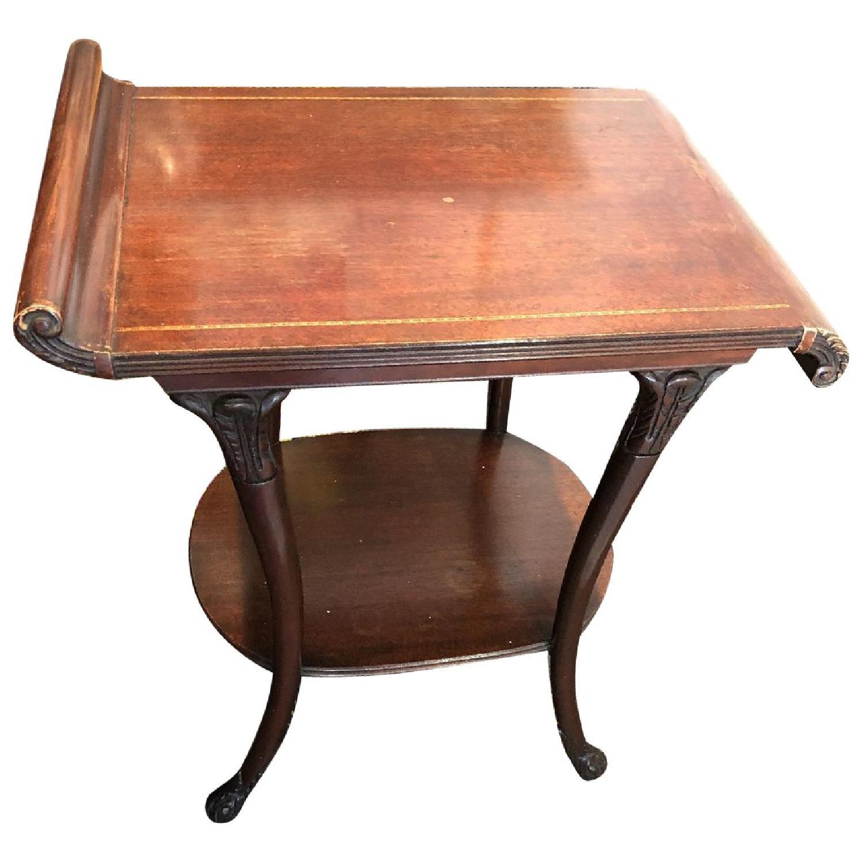 Vintage Mahogany Side Tables - image-0