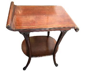 Vintage Mahogany Side Tables