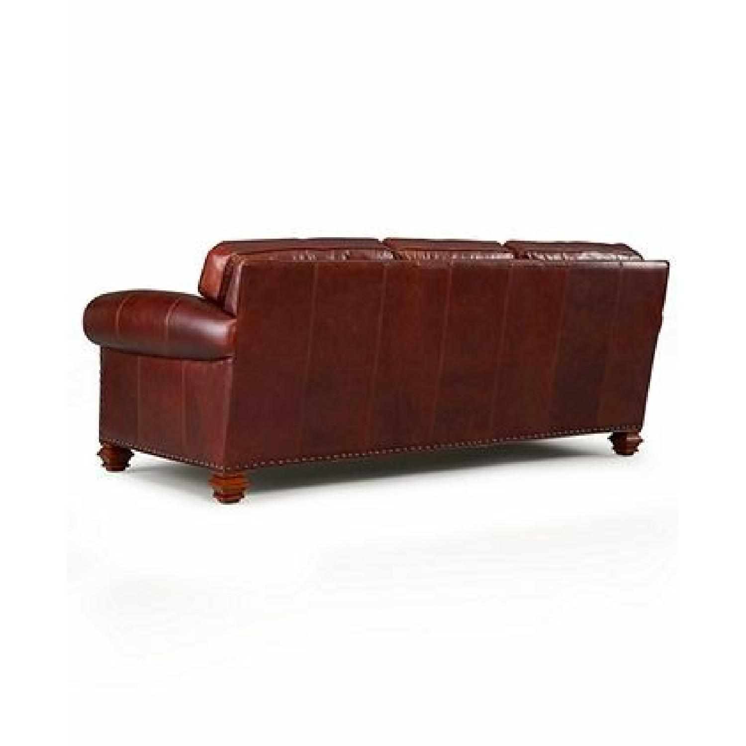 Macy's Ralph Lauren Stanmore Leather Sofa - image-2