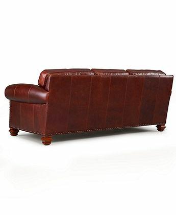 Macy's Ralph Lauren Stanmore Leather Sofa