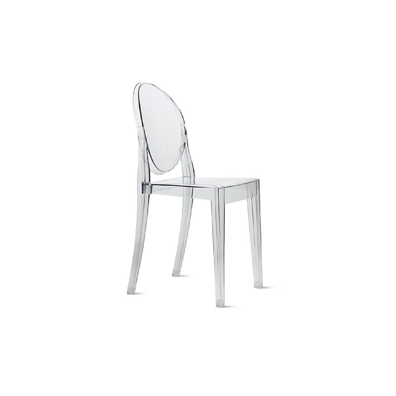 Kartell Victoria Ghost Chairs - AptDeco